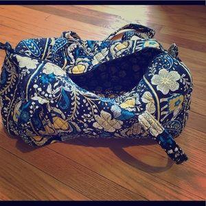 Vera Bradley—Small Duffel Bag—Ellie Blue